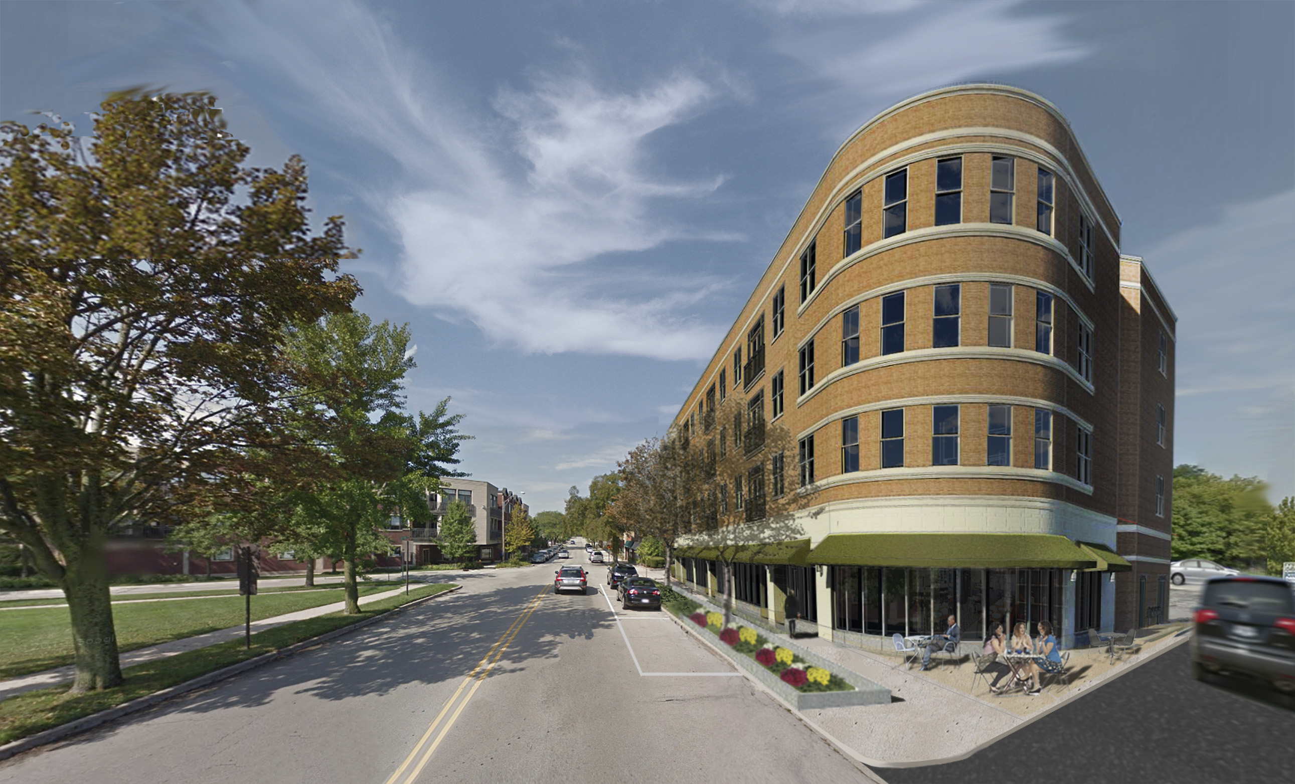 Mixed-Use Building Approved for Ravinia