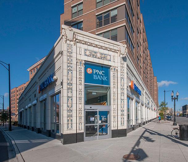 PNC Bank Branch, Uptown - FitzGerald Associates Architects