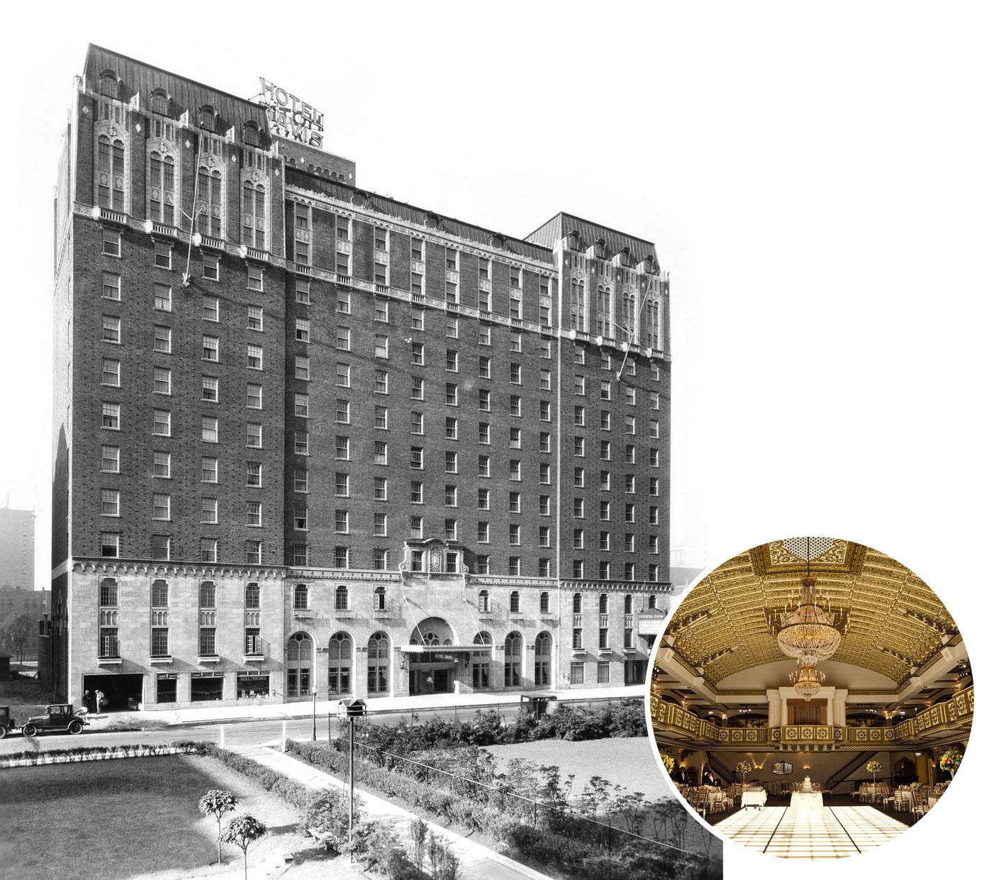 Davis Hotel / Millennium Knickerbocker Hotel