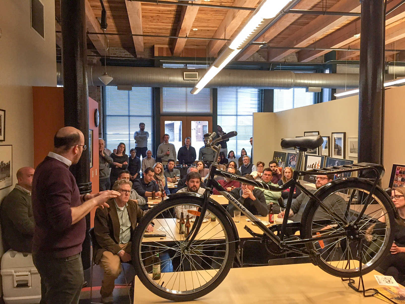 FitzGerald Hosts Idea Exchange With World Bicycle Relief